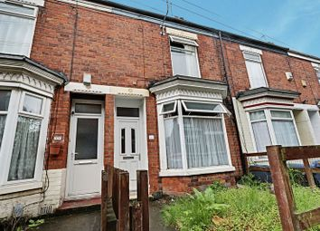 Thumbnail 3 bed terraced house for sale in Vermont Crescent, Worthing Street, Hull