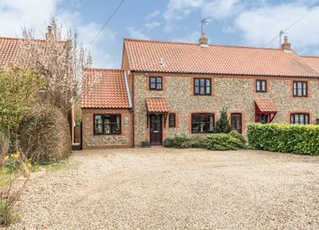 Thumbnail 4 bed semi-detached house for sale in Church Road, Aylmerton, Norwich