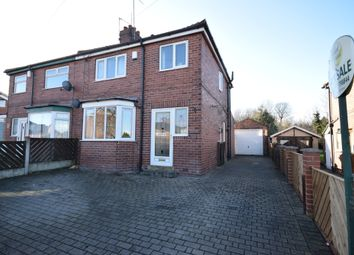 Thumbnail 3 bedroom semi-detached house for sale in Grove Lea Crescent, Pontefract