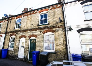 Thumbnail 3 bed terraced house for sale in Stanley Road, Newmarket