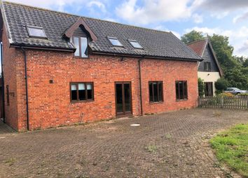 Thumbnail 3 bed barn conversion to rent in Common Road, Shelfanger, Diss