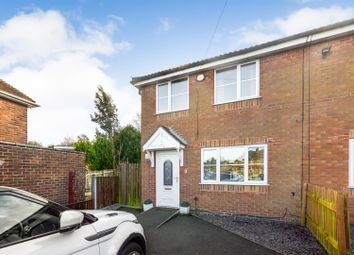 Thumbnail 3 bed semi-detached house for sale in Abbey Road, Blidworth, Mansfield