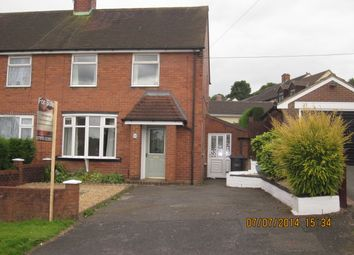 Thumbnail 2 bed semi-detached house to rent in Warwick Avenue, Clayton, Newcastle Under Lyme
