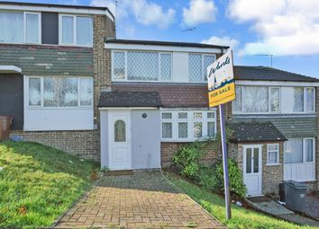 Thumbnail 3 bed terraced house to rent in Sundridge Drive, Chatham