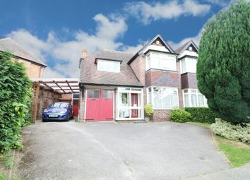 Thumbnail 3 bedroom semi-detached house for sale in Shirley Road, Hall Green, Birmingham