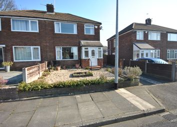 Thumbnail 3 bed semi-detached house for sale in Lyndene Avenue, Worsley Manchester