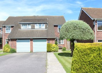 Thumbnail 3 bed semi-detached house for sale in Demontfort Grove, Hungerford