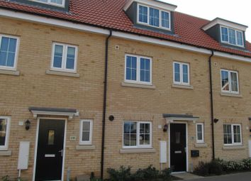 Thumbnail 4 bedroom terraced house to rent in Osprey Drive, Stowmarket