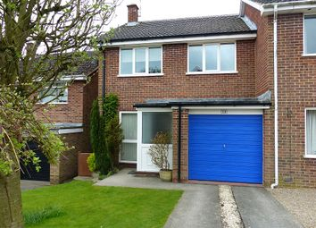 Thumbnail 3 bed semi-detached house for sale in Cedar Close, Ashbourne