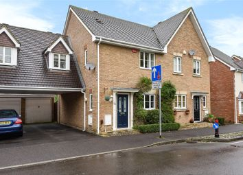 Thumbnail 3 bed semi-detached house for sale in Goddard Way, Warfield, Berkshire