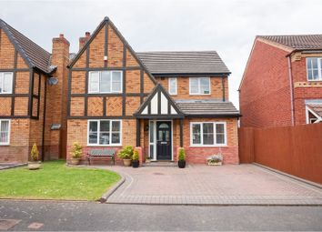 Thumbnail 4 bed detached house for sale in Burslem Close, Walsall