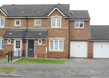 Thumbnail 4 bedroom semi-detached house for sale in Brooke Crescent, Taw Hill, Swindon