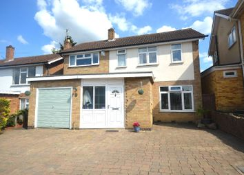 Thumbnail 4 bed detached house for sale in Rosemead Drive, Oadby, Leicester