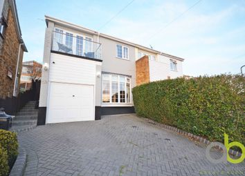 Thumbnail 4 bed semi-detached house for sale in Durley Close, Benfleet