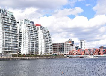 Thumbnail 2 bed flat for sale in N V Building, 100 The Quays, Salford