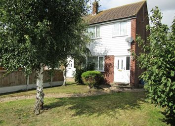 Thumbnail 3 bedroom end terrace house for sale in Larkswood Road, Corringham, Stanford-Le-Hope, Essex.