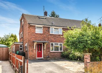 Thumbnail 4 bed semi-detached house for sale in Wishmoor Road, Camberley, Surrey