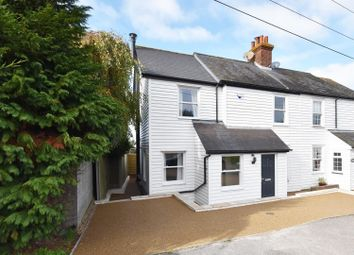 Thumbnail 3 bed property for sale in Woodside, Dunkirk, Faversham