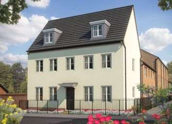 "Thumbnail 5 bed detached house for sale in ""The Warwick"" at Irthlingborough Road, Wellingborough"