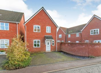 Thumbnail 3 bed detached house for sale in Green Acre Close, Mundford, Thetford