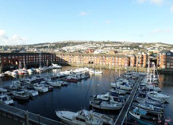Thumbnail 1 bed flat to rent in Meridian Wharf, Trawler Road, Swansea.