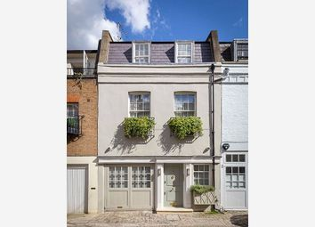 Thumbnail 4 bed terraced house for sale in Ebury Mews, Belgravia