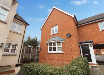 Thumbnail 3 bed end terrace house for sale in Chivers Court, Ipswich