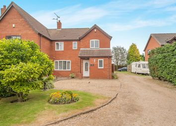 Thumbnail 3 bed semi-detached house for sale in Woodgate Road, Moulton Chapel, Spalding