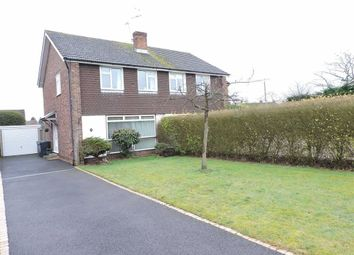 Thumbnail 3 bed semi-detached house for sale in Magdalen Crescent, Byfleet, Surrey