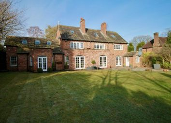 Thumbnail 6 bed detached house to rent in Hough Lane, Wilmslow