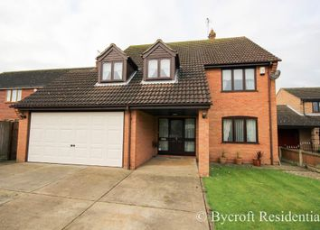 Thumbnail 4 bed detached house for sale in Morse Court, Caister-On-Sea, Great Yarmouth