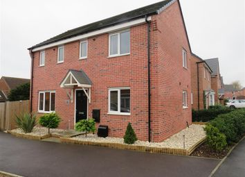 Thumbnail 3 bed detached house for sale in Mason Road, Melton Mowbray