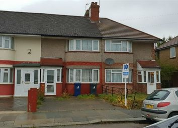 Thumbnail 2 bed terraced house for sale in Merton Avenue, Northolt, Middlesex