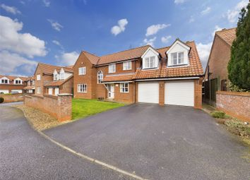 Thumbnail 4 bed detached house for sale in Holme Close, Thorpe-On-The-Hill, Lincoln