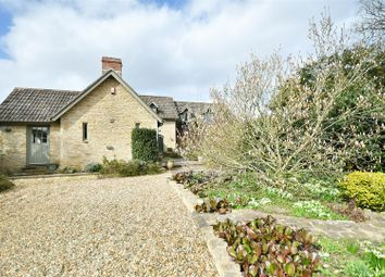 Thumbnail 4 bed detached house for sale in The Street, Grittleton, Chippenham