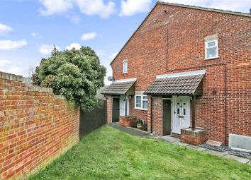 Thumbnail 1 bed end terrace house for sale in Charlotte Close, Chatham, Kent