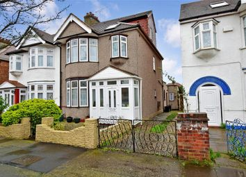 Thumbnail 4 bed semi-detached house for sale in Donington Avenue, Ilford, Essex