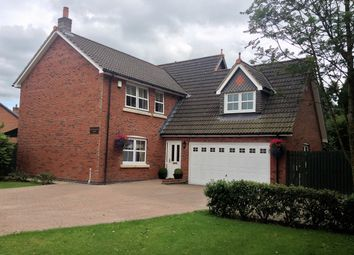Thumbnail 4 bed detached house for sale in Cumwhinton Drive, Carlisle, Cumbria