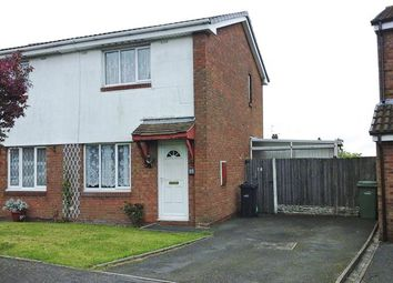 Thumbnail 2 bedroom semi-detached house for sale in Pebworth Grove, Dudley