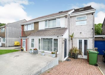 Thumbnail 5 bed semi-detached house for sale in Canefields Avenue, Plympton, Plymouth