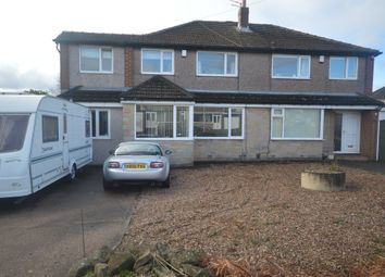 Thumbnail 4 bed semi-detached house for sale in Hill Top Road, Salendine Nook, Huddersfield
