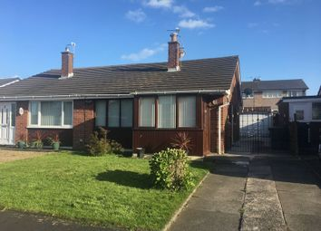 Thumbnail 2 bed semi-detached bungalow for sale in Croft Avenue, Burscough, Ormskirk