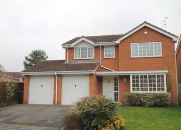 Thumbnail 4 bed detached house for sale in Denby Croft, Shirley, Solihull