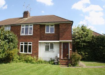 Thumbnail 2 bed flat to rent in Church Road, Woodley, Reading