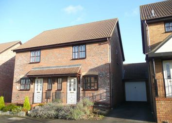 Thumbnail 2 bed semi-detached house to rent in Wolfscote Lane, Emerson Valley, Milton Keynes