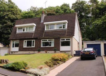 Thumbnail 3 bed semi-detached house for sale in Linnpark Gardens, Johnstone, Renfrewshire