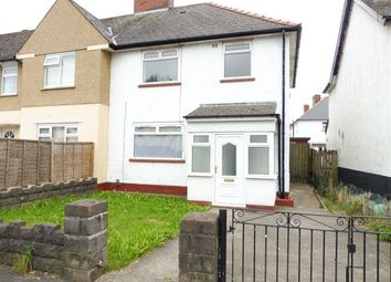 Thumbnail 3 bedroom semi-detached house to rent in Clydesmuir Road, Tremorfa Cardiff