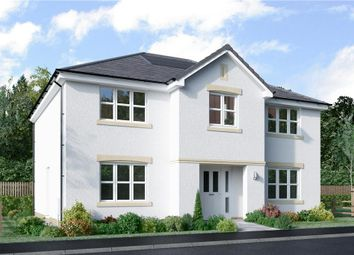 "Thumbnail 5 bed detached house for sale in ""Hopkirk"" at Auchinleck Road, Robroyston, Glasgow"