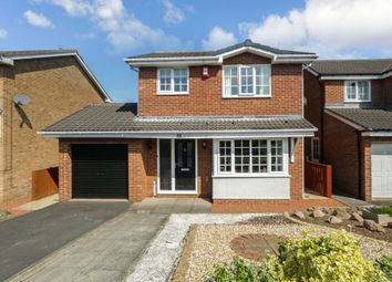 Thumbnail 3 bed detached house for sale in Mitchell Drive, Ashington