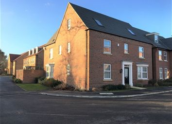 Thumbnail 5 bed property to rent in Stratten Park, Greylees, Sleaford, Lincs